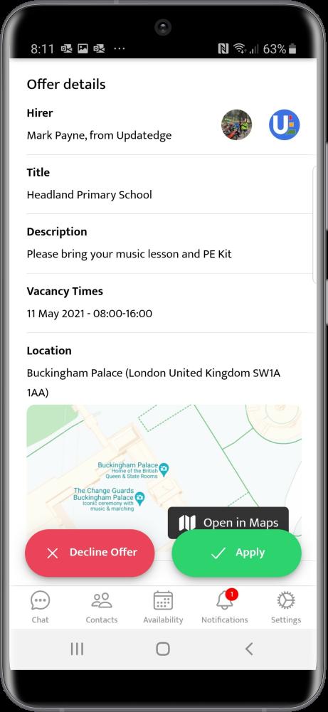 Updatedge Mobile app new offer